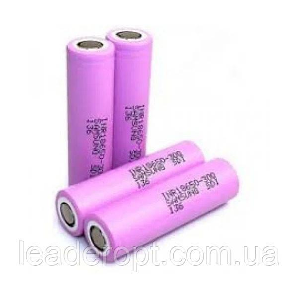 ОПТ Высокотоковый акумулятор батарея Samsung 18650 4,2 V 2550