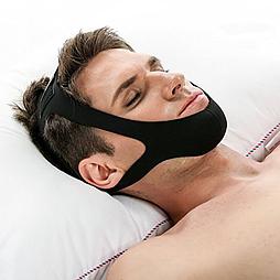 Треугольный ремень с защитой от храпа Snore ремешок для подбородка и рта