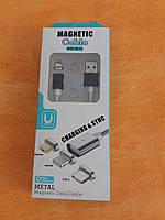 Кабель для зарядки iphone Magnetic DM-M12 micro USB Магнитный
