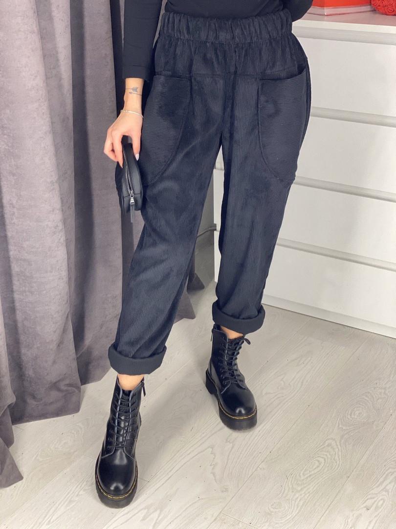 Вельветовые брюки