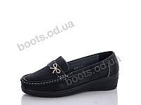 """Туфли женские  женские """"PTPT"""" #W186-1. р-р 37-42. Цвет черный. Оптом"""