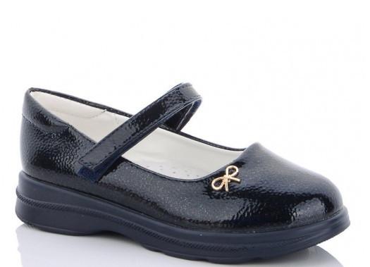Туфли детские черные,туфли на девочку,туфли детские школьные,Yalike 56-138