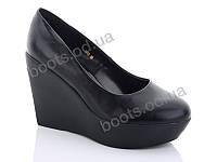"""Туфли женские  женские """"Lino Marano"""" #Y450. р-р 35-39. Цвет черный. Оптом"""