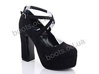 """Туфли женские  женские """"Lino Marano"""" #Y446-6. р-р 35-39. Цвет черный. Оптом"""
