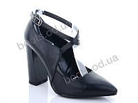 """Туфли женские  женские """"Lino Marano"""" #Y472. р-р 35-39. Цвет черный. Оптом"""