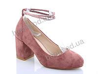 """Туфли женские  женские """"Lino Marano"""" #A248-31. р-р 36-40. Цвет розовый. Оптом"""