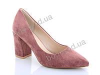 """Туфли женские  женские """"Lino Marano"""" #A245-31. р-р 35-39. Цвет розовый. Оптом"""