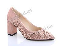 """Туфли женские  женские """"Lino Marano"""" #A240-31. р-р 35-39. Цвет розовый. Оптом"""