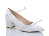 "Туфли женские  женские ""Lino Marano"" #Y465-2. р-р 35-40. Цвет белый. Оптом"