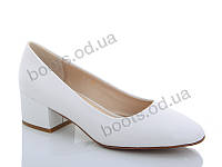 """Туфли женские  женские """"Lino Marano"""" #A231-2. р-р 36-40. Цвет белый. Оптом"""