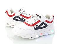 Детские кроссовки оптом, 26-31 размер, 8 пар, ВВТ