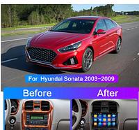 Junsun 4G Android магнитола  для hyundai Sonata 2003 2004 2005 2006 2007 2008 2009 2010