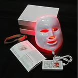 LED Маска для фотодинамічної терапії (7 кольорів) Smart Bubbles, фото 2