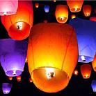 Китайские небесные фонарики, разные цвета, фото 2