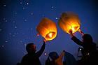 Китайские небесные фонарики, разные цвета, фото 4