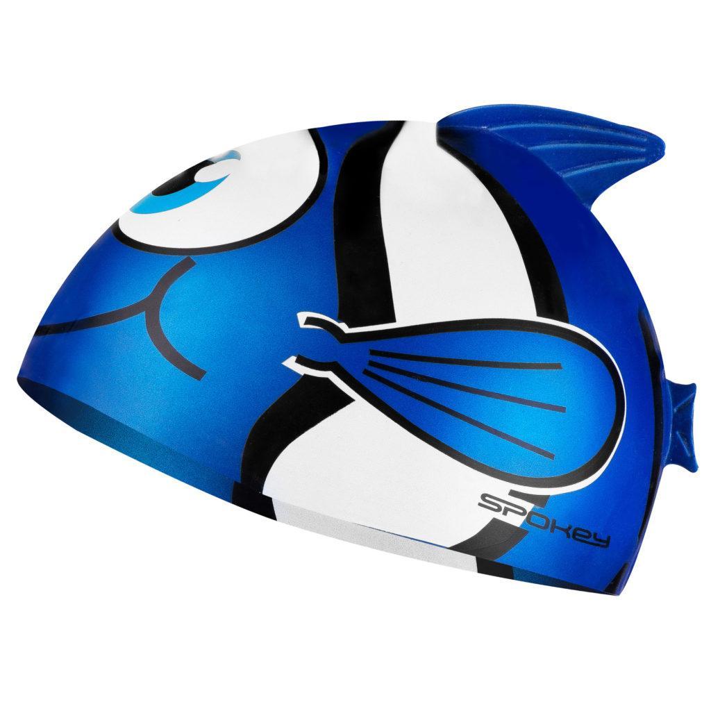 Шапочка для плавания детская Spokey Rybka 87470 (original) для бассейна, силикон
