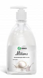 GRASS Жидкое крем мыло Milana «Жемчужное» с дозатором 0,5л.