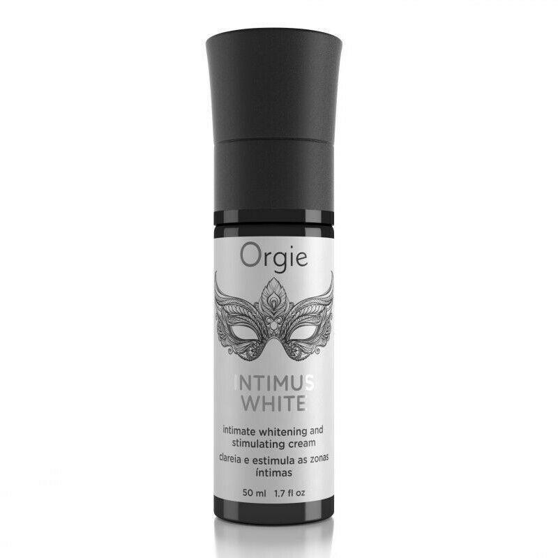 Возбуждающий гель для клитора Orgie Intimus White с эффектом осветления кожи