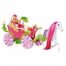 Лялька Evi в кареті з конячкою Simba 5735754