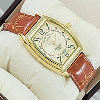 Часы мужские наручные Frank Muller Brown/Gold/Gold
