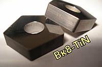 PNUA 10113-110408 ВК-8 TiN Пластина пятигранная твердосплавная