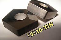 PNUA 10113-110408 Т5К10 TiN   Пластина пятигранная твердосплавная