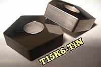 PNUA 10113-110408 Т15К6 TiN Пластина пятигранная твердосплавная