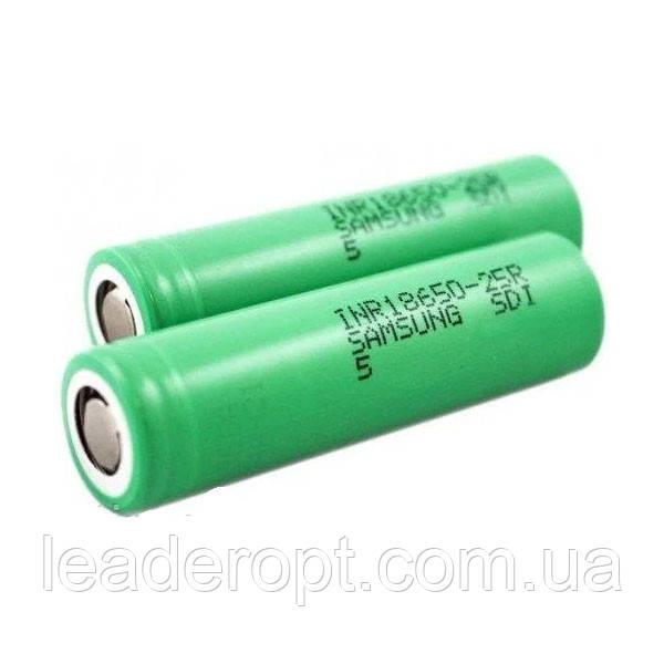 ОПТ Высокотоковый аккумулятор батарейка Samsung 18650 4.2V 2000mAh