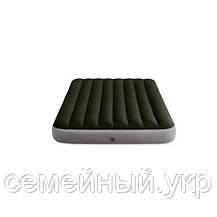 Надувной матрас 203х152х25 нагрузка 273 кг Подарок! Надувные подушки Intex 64779, фото 3