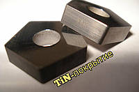 PNUA 10113-110408 TТ7К12 TiN Пластина пятигранная твердосплавная