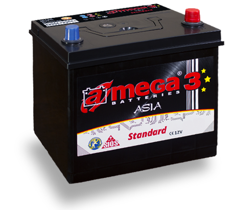 Аккумулятор A-Mega Asia (JIS) 60Ah