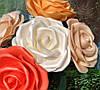 Роза белая Ростовые цветы из изолона