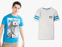 Набор стильных детских и подростковых футболок на мальчика C&A Германия Размер 122-128, 134-140, 158-164