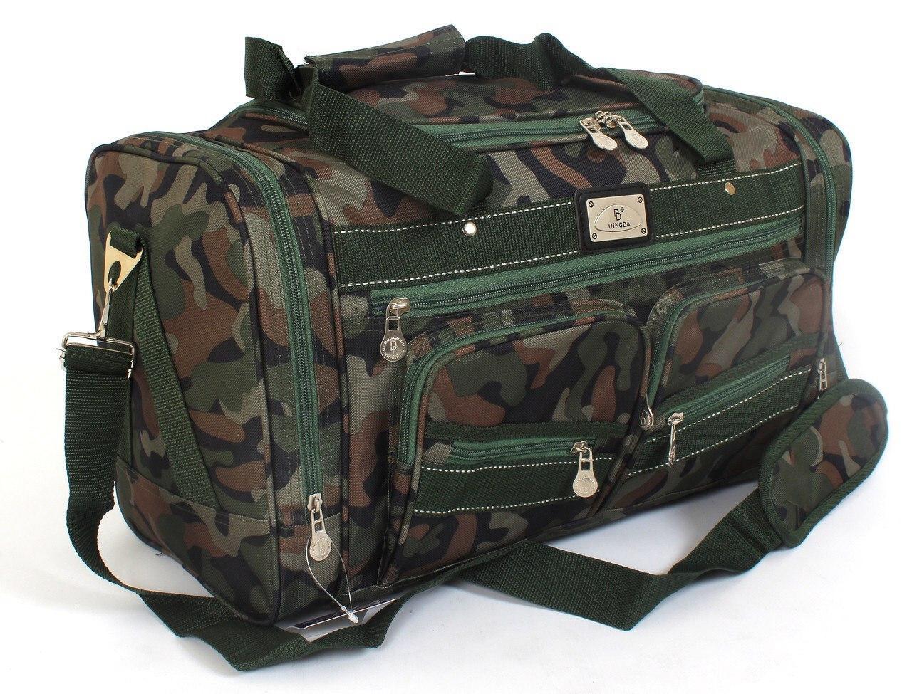 Дорожная сумка камуфляж 60 см