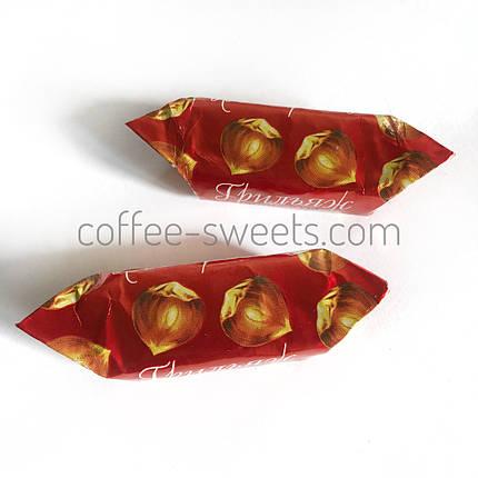"Цукерки Комунарка ""Грильяж в шоколаді"" з фундуком, фото 2"
