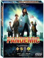 Уценка! Настольная карточная игра Pandemic (Пандемия), для компании, тимбилдинга
