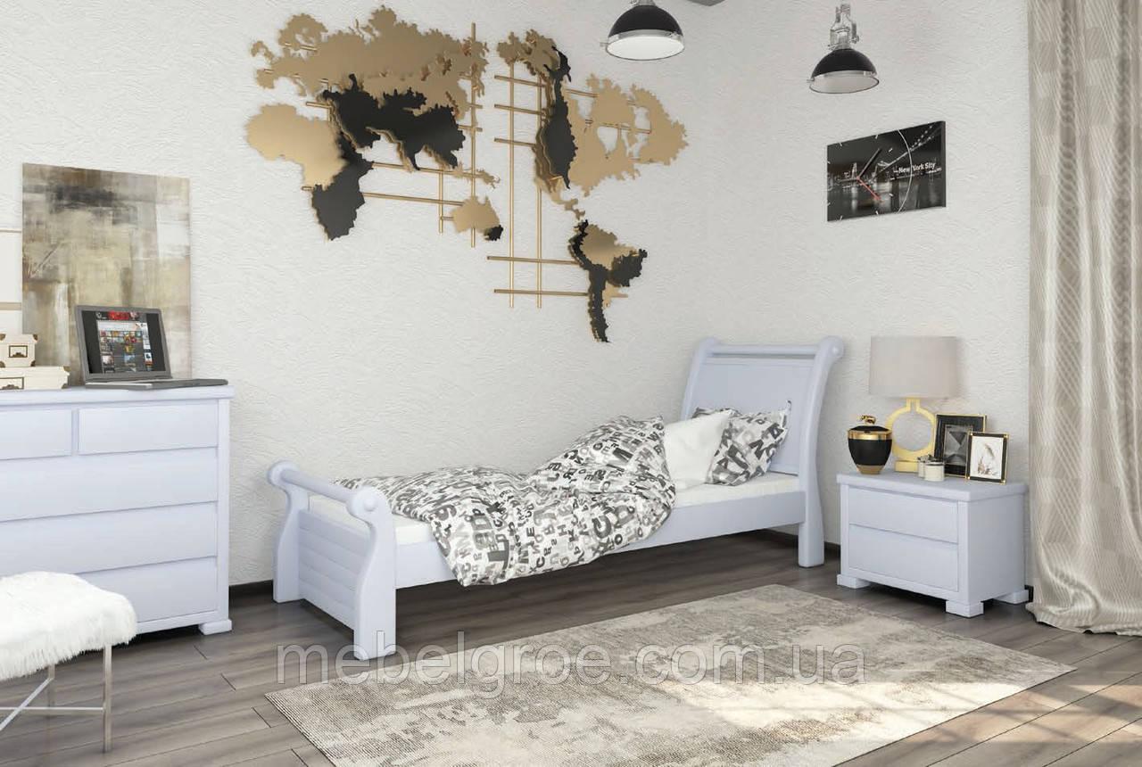 Деревянная односпальная кровать 80 Сицилия Мини тм Mebigrand