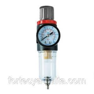 Фильтр для очистки воздуха + редуктор INTERTOOL PT-1412