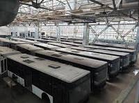 Кладбище заброшенных автобусов обнаружено в Украине: в память о погибшем заводе