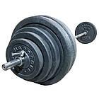 Скамья регулируемая + Стойки + Штанга (78 кг) набор комплект, фото 2