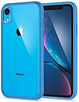 Чехол Spigen для iPhone XR Ultra Hybrid 360, Blue (+ защитное стекло) (064CS25349), фото 1