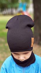 Для Мальчиков трикотажные комплекты шапка + бафф