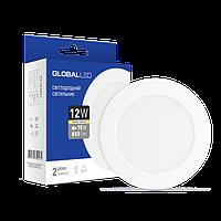 LED світильник GLOBAL SPN 12W тепле світло (1-SPN-007-З)