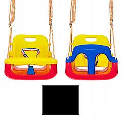 Гойдалки для дітей 4в1 з захистом і столиком