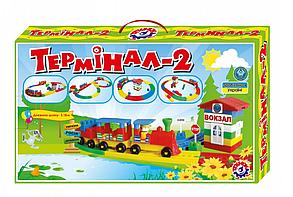 """Детский игровой набор """"Конструктор ТЕРМИНАЛ 2"""" ТМ ТехноК 121 деталей от 4 лет, фото 2"""