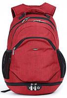 Рюкзак школьный Dolly красный ( 384 - DL)