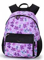Детский рюкзак для девочки с рисунком «Butterfly» Dolly сиреневый (362 - DL)