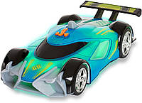 Моторизированная гоночная машина свет звук Hot Wheels Race N Crash Mach Speeder