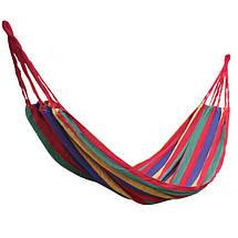 Подвесной мексиканский гамак, размер (285) см х 160 см, фото 2