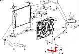 Патрубок печки салона подводящий ЗАЗ Форза, фото 2